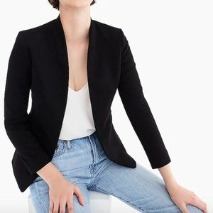 NWT J. Crew Going Out Blazer Stretch Twill Black
